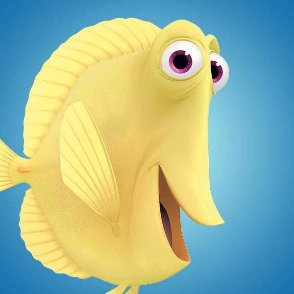 Fins clipart fish nemo  Nemo Disney Movies Characters