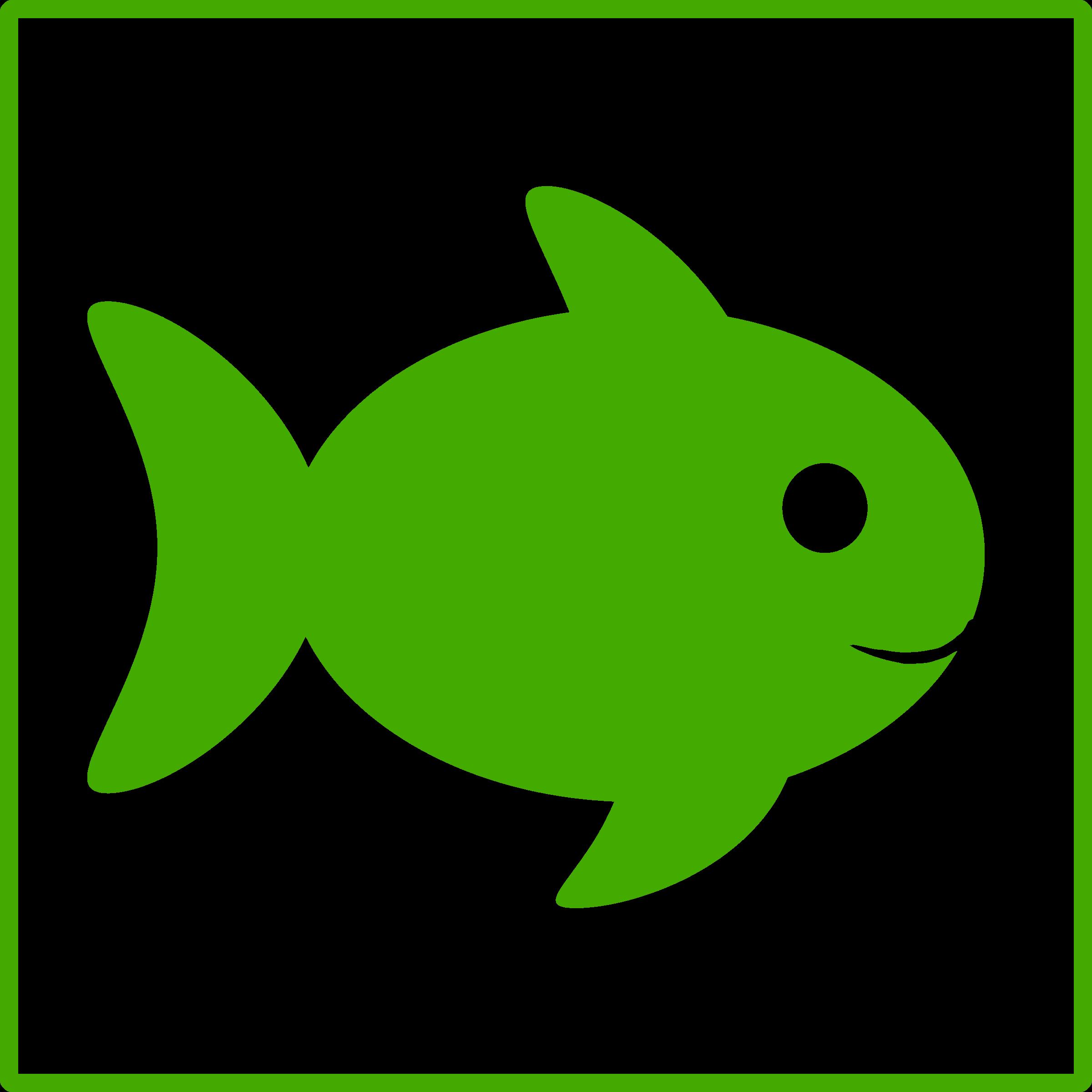 Fins clipart green fish Icon eco green Clipart green