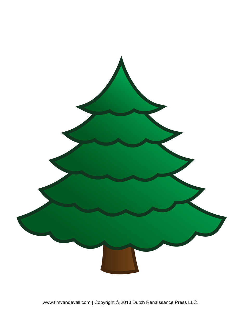 Fir Tree clipart Fir Paper collection Tree Christmas