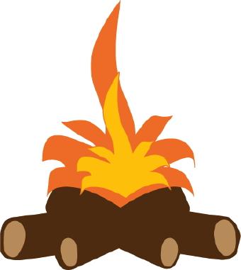Campfire clipart log fire Fire 5 free  art
