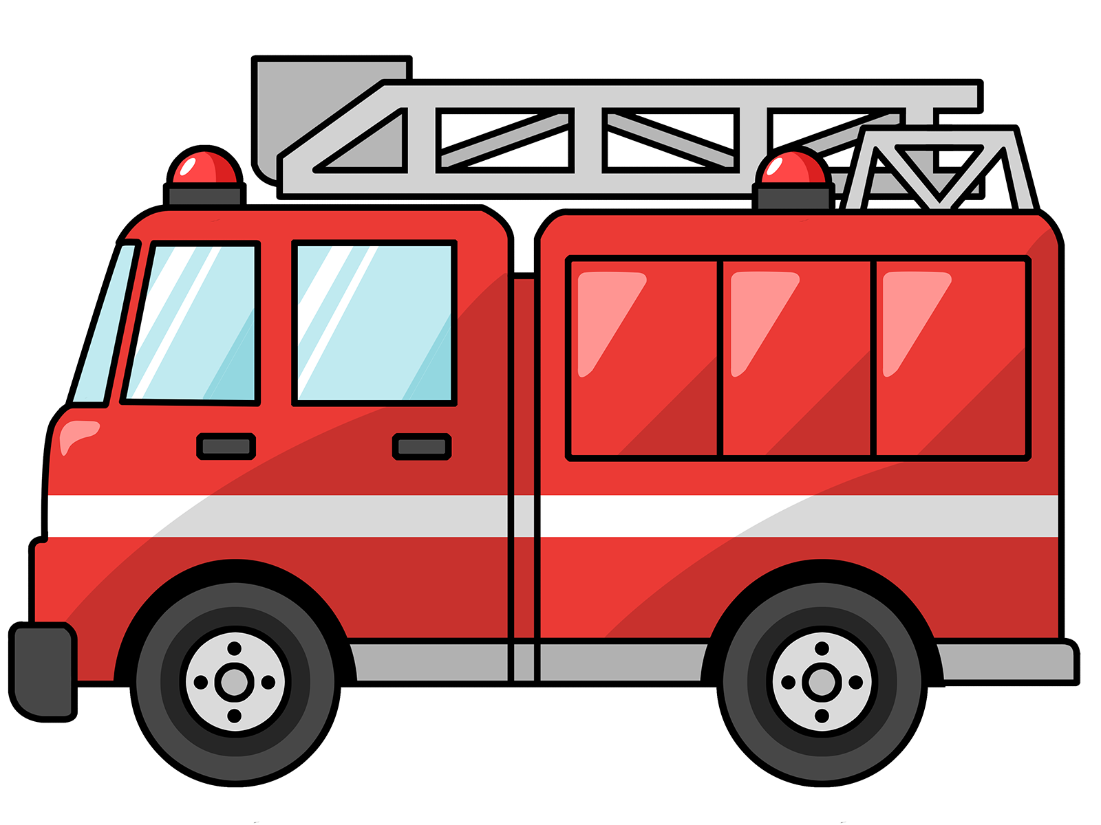 Fire Truck clipart front view Panda Images Clipart Art Clipart