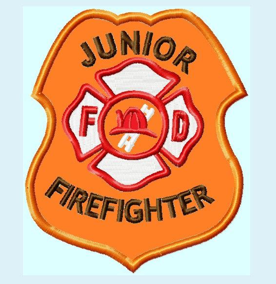 Fire Truck clipart badge #11