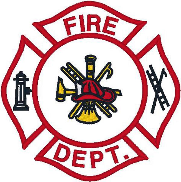 Fire Truck clipart badge #13