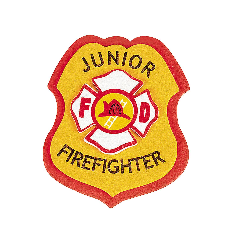 Fire Truck clipart badge #7