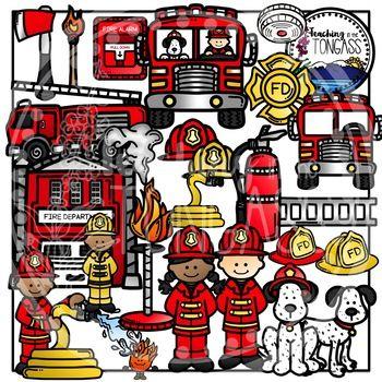 Fire Truck clipart badge #12