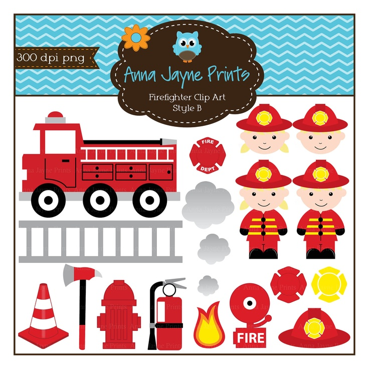 Fire Truck clipart commercial Theme Fire Firefighter Fire Clipart