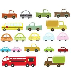 Fire Truck clipart digital Items Clip similar Etsy cute