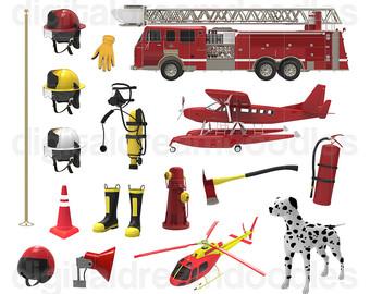 Fire Truck clipart fire equipment Fireman Fire Fire Dog Clip