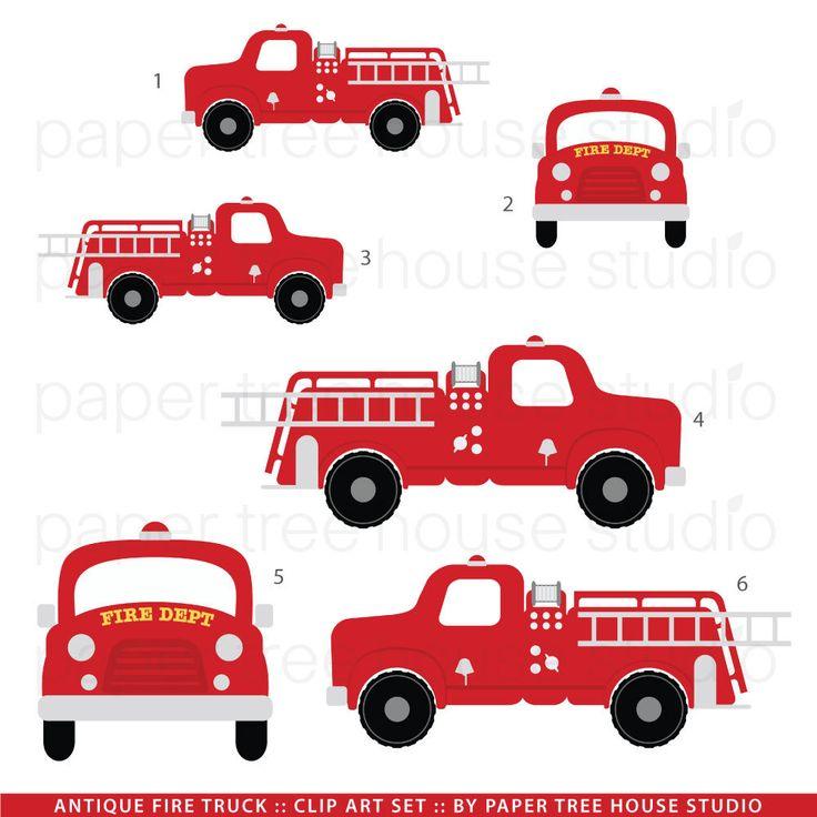 Fire Truck clipart fire equipment Best 3 Set 226 Files