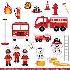 Fire Truck clipart fire equipment And Set Pinterest Fire $3