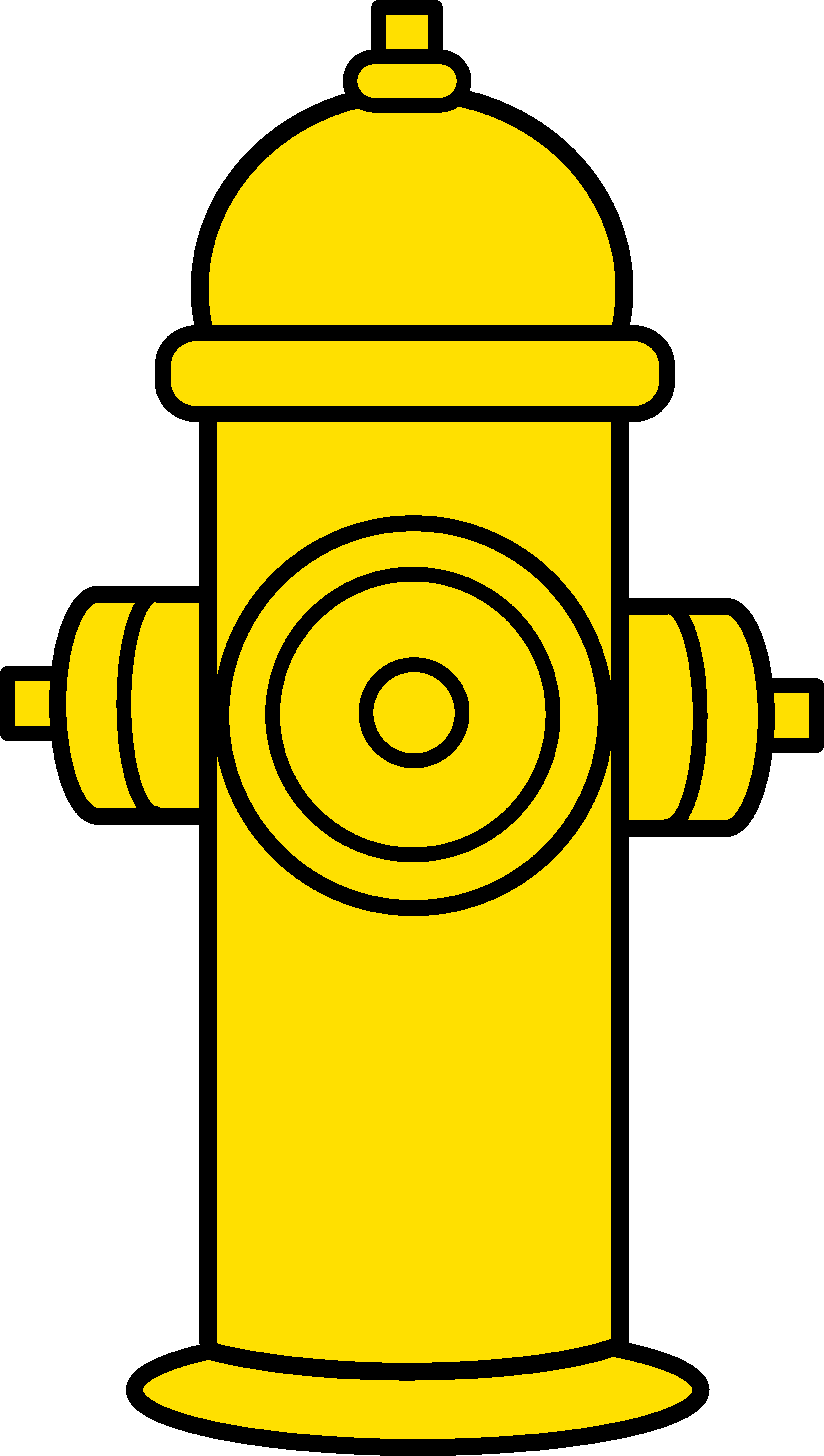 Yellow clipart fire hydrant Clipart: Clip Fire – Fire