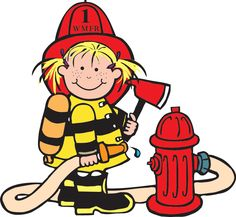 Fire Truck clipart fire prevention Clipart Firefighter SafetyFire clipart Panda