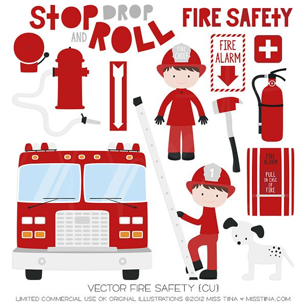Fire Truck clipart fire prevention {CU} Fire images 2012! 54