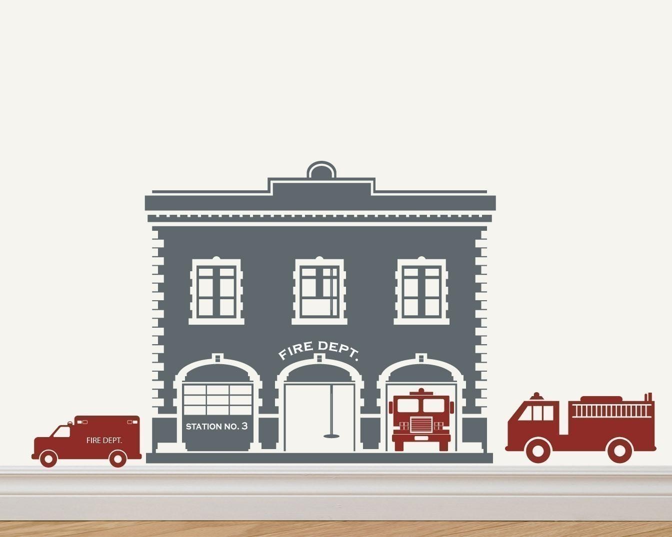 Fire Truck clipart house fire #2