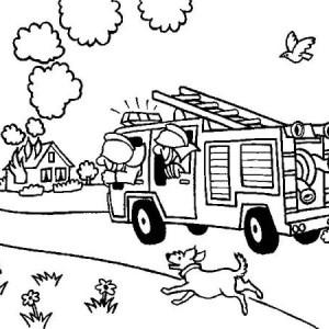 Fire Truck clipart house fire #3