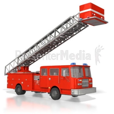 Fire Truck clipart ladder Raised Great Ladder Truck Truck