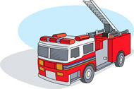 Fire Truck clipart ladder Graphics Results firetruck Size: Search