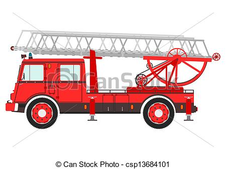 Fire Truck clipart ladder Truck ladder Fire photos Art