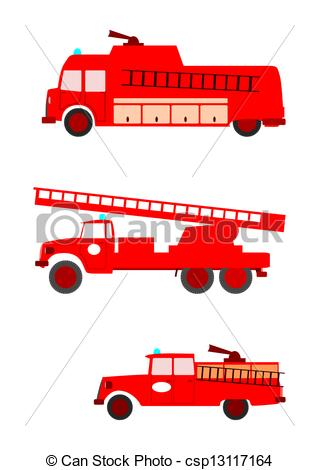Fire Truck clipart logo Fire csp13117164 Vector on of