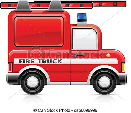 Fire Truck clipart logo Wred fire Vectors truck of