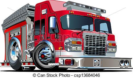 Fire Truck clipart logo Fire Cartoon EPS Available