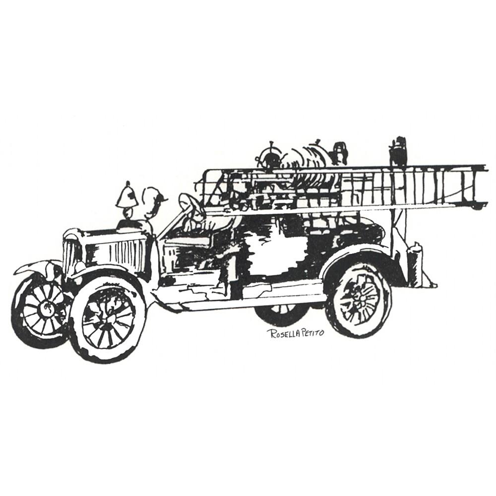 Fire Truck clipart powerpoint Truck Art Art clipart Vintage