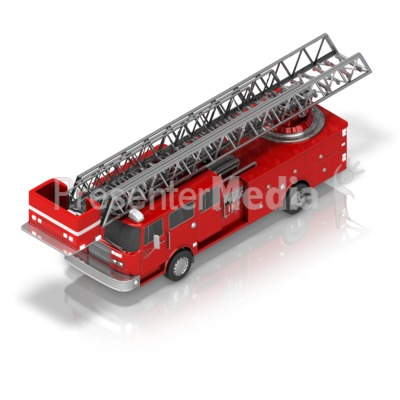 Fire Truck clipart powerpoint Great Clip Presentation Clipart Isometric