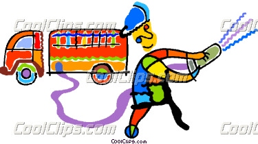 Fire Truck clipart powerpoint Art · Hose Car Truck