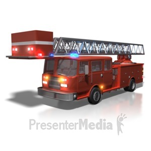 Fire Truck clipart powerpoint A Lights Truck PowerPoint Firetruck