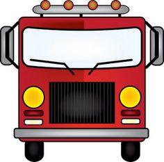 Fire Truck clipart printable #3