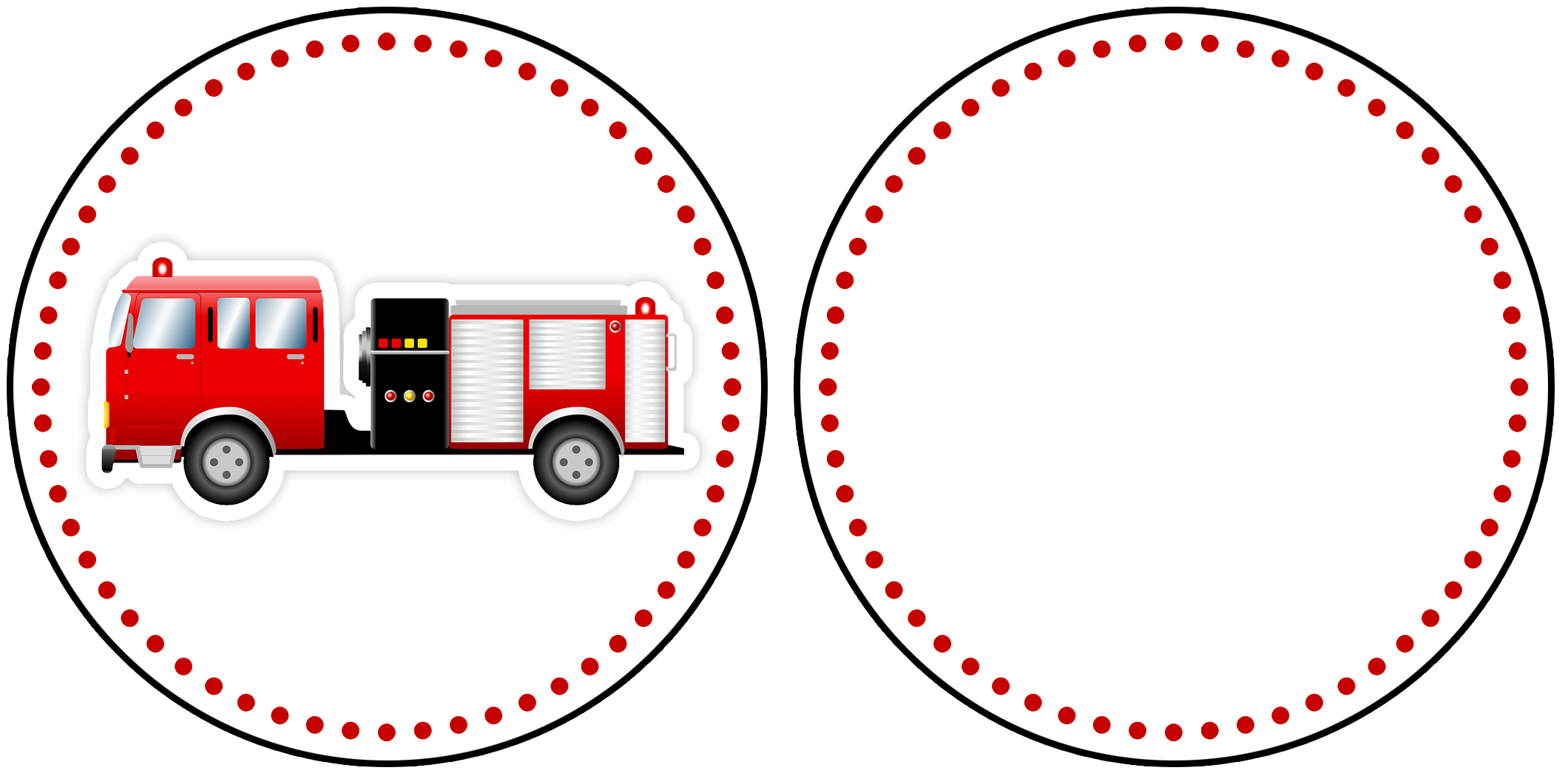 Fire Truck clipart printable #15