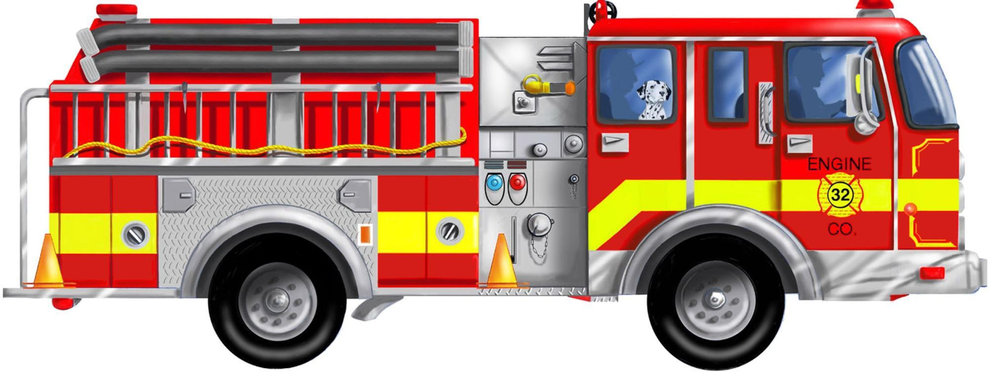Fire Truck clipart side view Fire fire Clipart Fire Collection