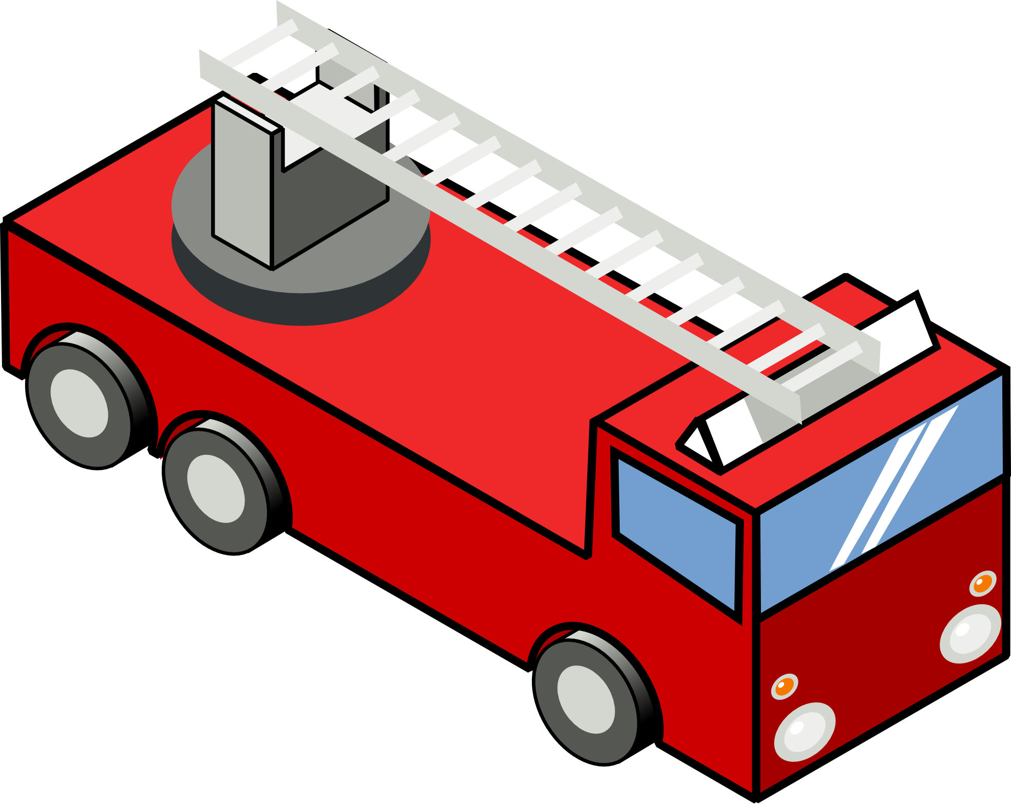 Fire Truck clipart toy truck Free Iso Christmas Top Engine