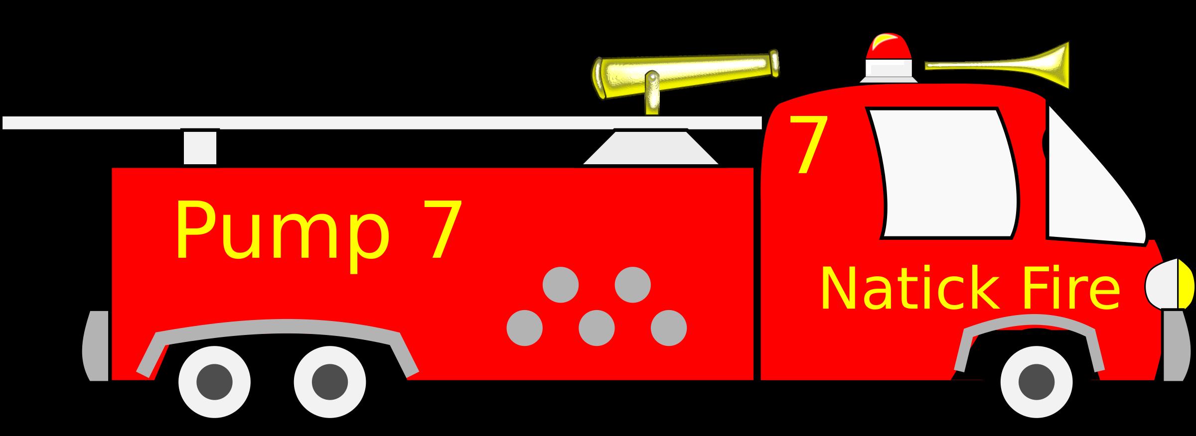 Truck Fire Fire Clipart Toy