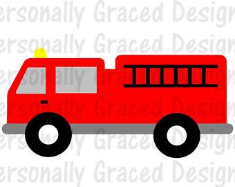 Fire Truck clipart transportation Firetruck EPS truck file Firetruck