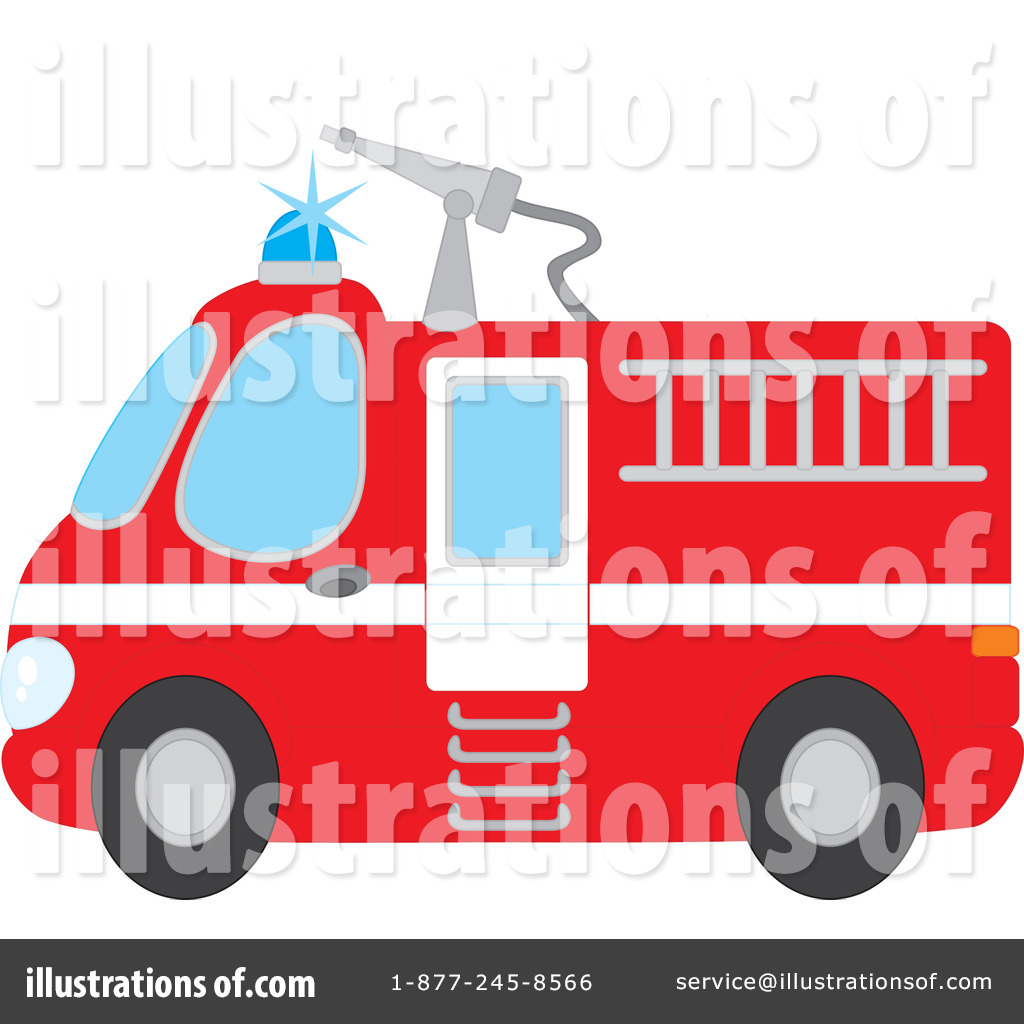 Fire Truck clipart transportation Clipart by Clipart Illustration Bannykh