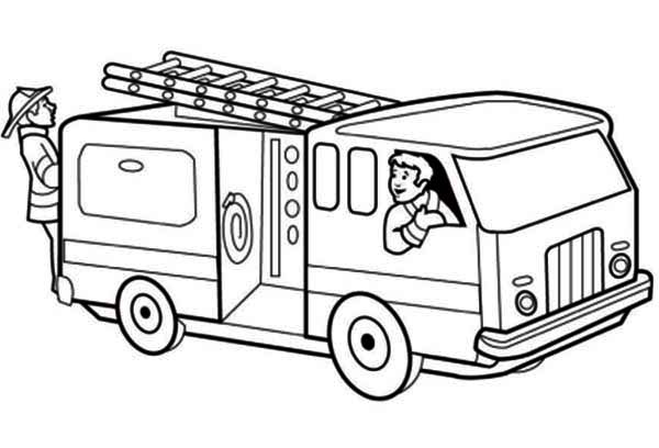 Fire Truck clipart transportation Pages  31 Transportation Pages