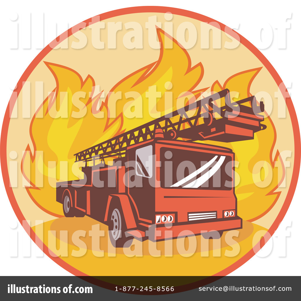 Fire Truck clipart yellow Illustration Clipart Illustration by Fire