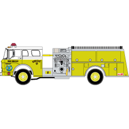 Fire Truck clipart yellow C Cast Truck Fire Ford