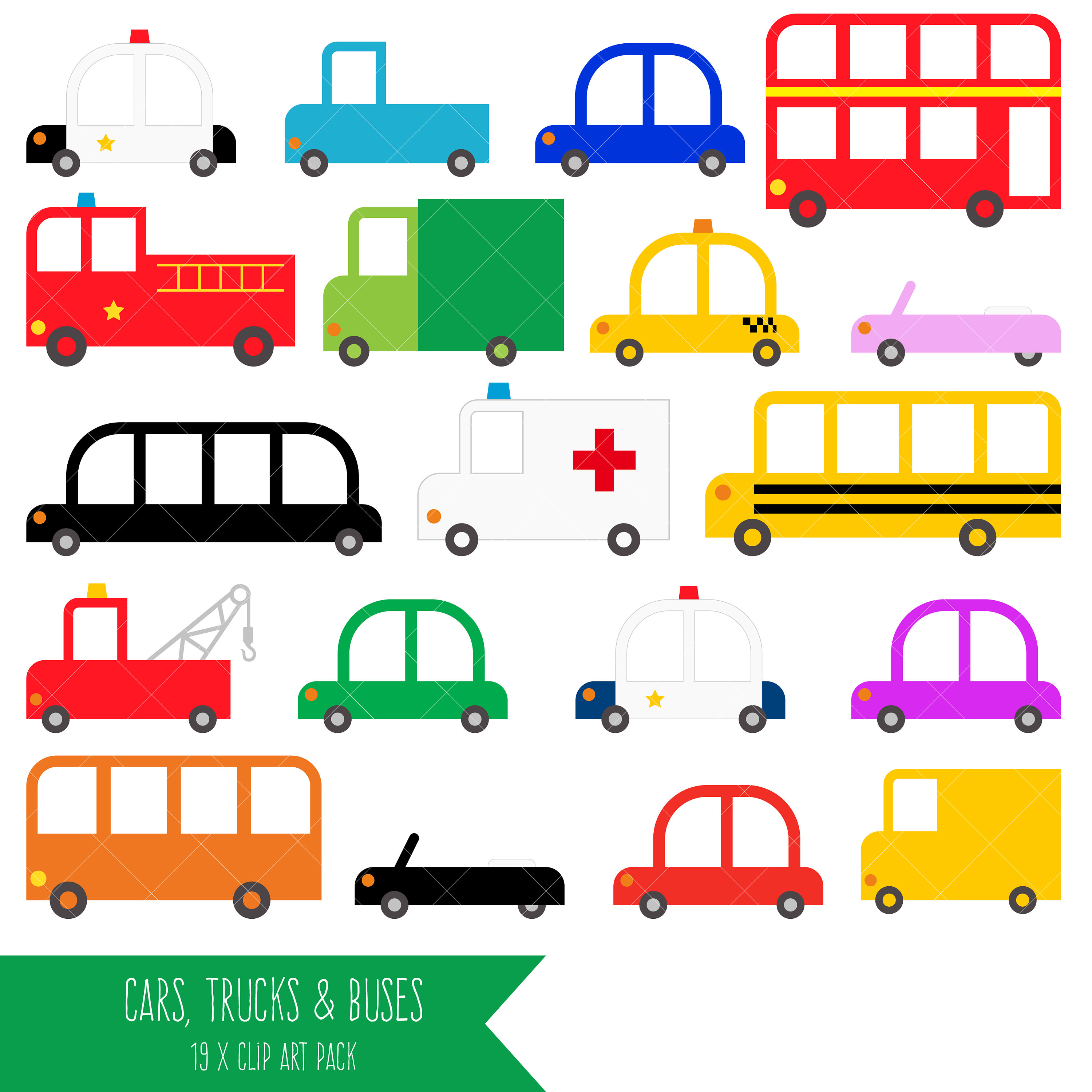 Fire Truck clipart yellow car Car Cars a is and