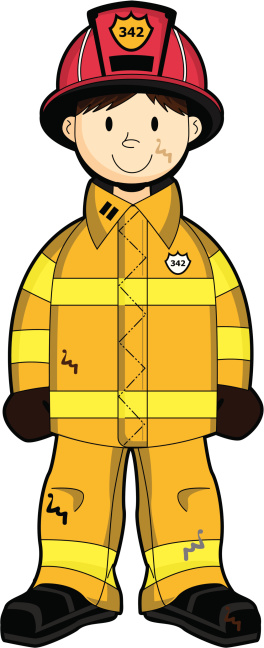 Firefighter clipart #13