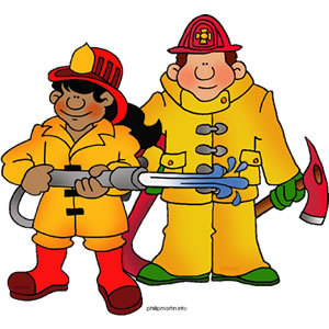 Firefighter clipart #9