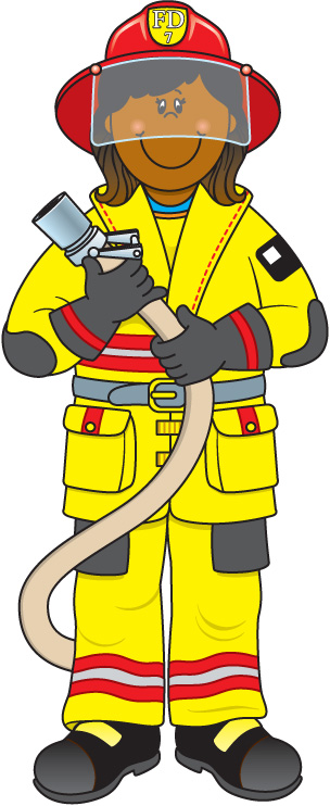Firefighter clipart #10