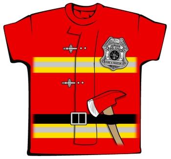 Uniform clipart firefighter uniform Bear Uniform Firefighter Tee Toddlers
