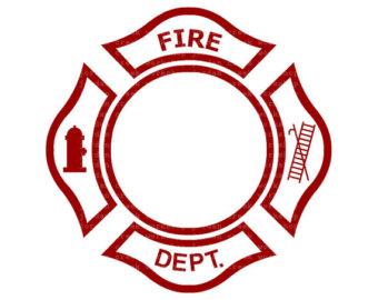 Firefighter clipart emblem #10