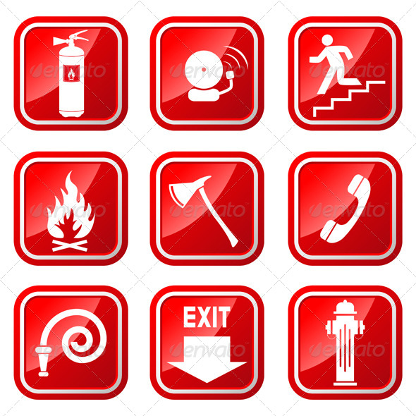 Firefighter clipart emergency evacuation #3