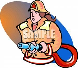 Firefighter clipart female firefighter Clipart Girl Panda Firefighter Images