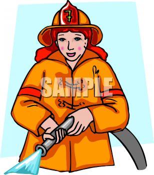 Firefighter clipart female firefighter Clipart Clipart Fighter Firefighter Clip