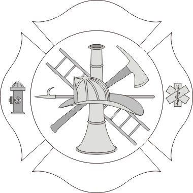 Firefighter clipart fire prevention Emblem collection art images Fire