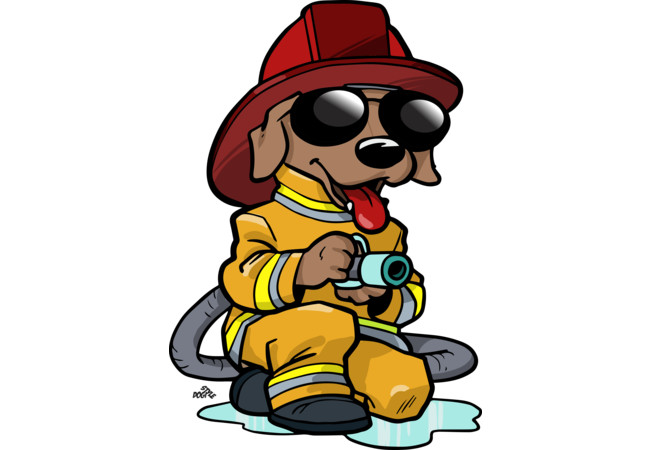 Firefighter clipart funny Art 3 Firefighter download lupon